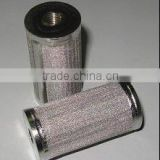 Stainless steel tube filter elements