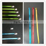 Band-it Coated Steel Cable Ties 8x400mm