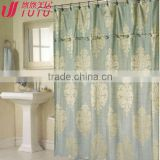 PEVA Waterproof solid color Bathroom shower Curtain/cheap shower curtain/ bright color shower curtains