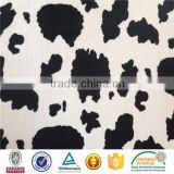 3000MTS MOQ 30% off Cow Faux Fur Velboa Fabric