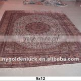 9x12 400L persian silk handmade aubusson rugs china