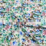 blue enchantress big rose fabric cotton digital printing fashion fabric 2013 for ladies long dress