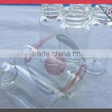 Clear tube bottle, sample vials, glass bottles for sample testing with plastic cap                                                                         Quality Choice