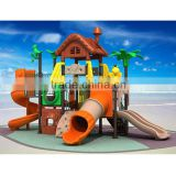 Mini treehouse-style outdoor playground cheap toys with 19 optional site sizes