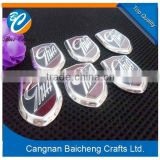 wonderful Cangnan manufactory high quality ABS car sticker with powerful 3M sticker in cheap price for sale support customized