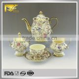 Drinkware stoneware classic coffee and tea set, arabic coffee and tea sets, tea sets for adults