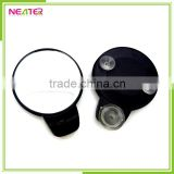 cheap round plastic single suction makeup bathroom mirror with led                                                                         Quality Choice