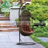 Modern popular nice outdoor bird nest egg shaped hanging swing chairs                                                                         Quality Choice
