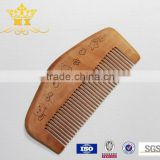 Wholesale customed logo cheap wooden beard comb                                                                         Quality Choice
