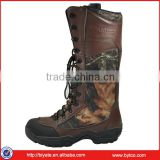 Fashion men leather hiking boots