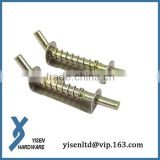 Metal Spring Loaded Concealed Pin Hinges for Door Cabinet