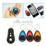 RF wireless remote control electronic key finder anti-lost alarm Key Transmitter with 3 Receivers