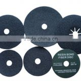 "4""4.5""5"" 6"" 7"" aluminium oxide fiber sanding disc for ship boat & metal"