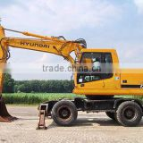USED MACHINERIES - HYUNDAI ROBEX 170W-7 WHEEL EXCAVATOR (8300)