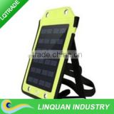 3.5W solar panel Backpack charger / High efficiency solar panel / Fashion solar energy backpack type charger