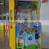 Kids coin operated game machine mini toy crane machine parent-child claw crane machine with Taiwan mainboard