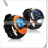 2015 Latest Smart Elderly Healthcare Fall Down Automatically Send SOS Alert Watch GPS GPRS Tracking Watch for Dementia