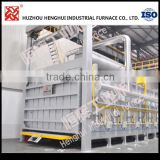 High temperature heating treatment industrial electric furnace for Steel quenching normalizing