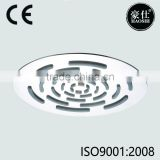 8 inch stainless steel popular new style round seamless shower