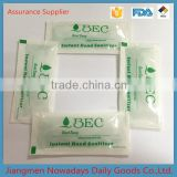 MSDS FDA hand sanitizer alcohol sachet