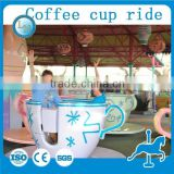 Lino supplier carnival used amusement park equipment games! Fiberglass rotating tea cup coffee cup rides for sale