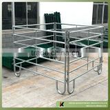48mmOD pipe framed 1.85m high heavy duty high quality farm use galvanized steel cattle fence panel