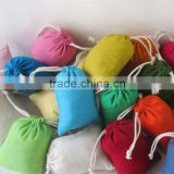 Drawstring Storage Bag Pouch Travel Craft Makeup Dust Bag Assorted Color