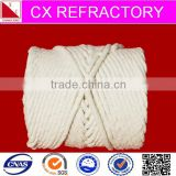 Glass fiber strengthen ceramic fiber rope