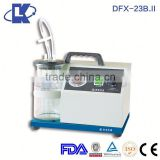 DFX-23B.I I(AC/DC)) mobile dental suction unit low-vacuum suction units medical suction devices