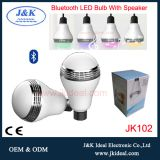 Wireless bluetooth smart music led light bulb lamp with speaker