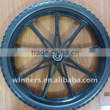 "20"" nylon rim with PU tire"
