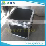 New product waterproof aluminum cosmetic brief box flight case
