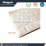 Professional factory manufacture classic style multi color option faux brick stone 3d wallpaper sticker