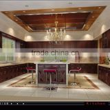 AutoCAD Drawing 3D Villa Interior And Architecture Rendering
