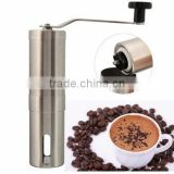 High quality free sample of WS- IS077 Manual Stainless Steel Coffee Grinder