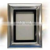 Silver plated photo frame,metal photo frame,2012 photo frame,nice photo frames,8x10 metal photo frames,unique metal photo frames