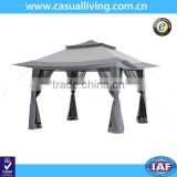 Best selling steel pop up gazebo/outdoor gazebo garden tent 3x3