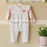 mom and bab 2013 baby clothes 100% cotton sleepwear romper