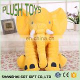 Elephant Doll Pillow Soft Plush Stuff Lumbar Pillow Toys Gifts For Baby Kids Toys
