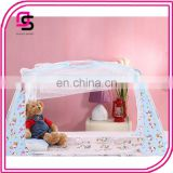 Wholesale fashion design baby bed mosquito net baby toddler bed crib dome canopy netting
