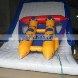 TOP inflatables fly fish infltable towable flying fish flying carpet amusement park rides