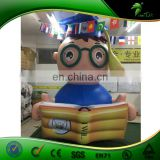 3.5M High Inflatable Student, Inflatable Doctor With Book on Hands