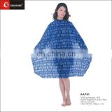 Dinshine custom hair salon cape with pattern