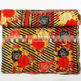 100% Cotton High Quality Vintage Kantha Quilt Quilts/throw/blanket Quilt