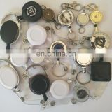 wholesale multi-style yoyo carabiner retractable id badge reels, pull reel ,round /square/ shape badge reel,