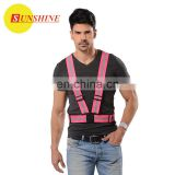 Reflective cheap Safety running vest