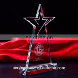 China manufacture wholesale trophy for sports show,crystal acrylic trophy,award trophy plaque