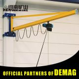 1 ton mini beam mounted wall bracket jib cranes price