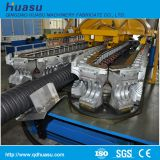PVC Plastic Tendon Spiral Enhanced Pipe Line     Description of PVC Plastic Tendon Spiral Reinforced Pipe Extrusion Line:     PVC plastic tendon spiral reinforced pipe has many advantages, such as extrusion resistance, corrosion resistance, and pressure r