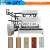 hot press machine for plywood/hot press melamine laminating machine/wood door press machine